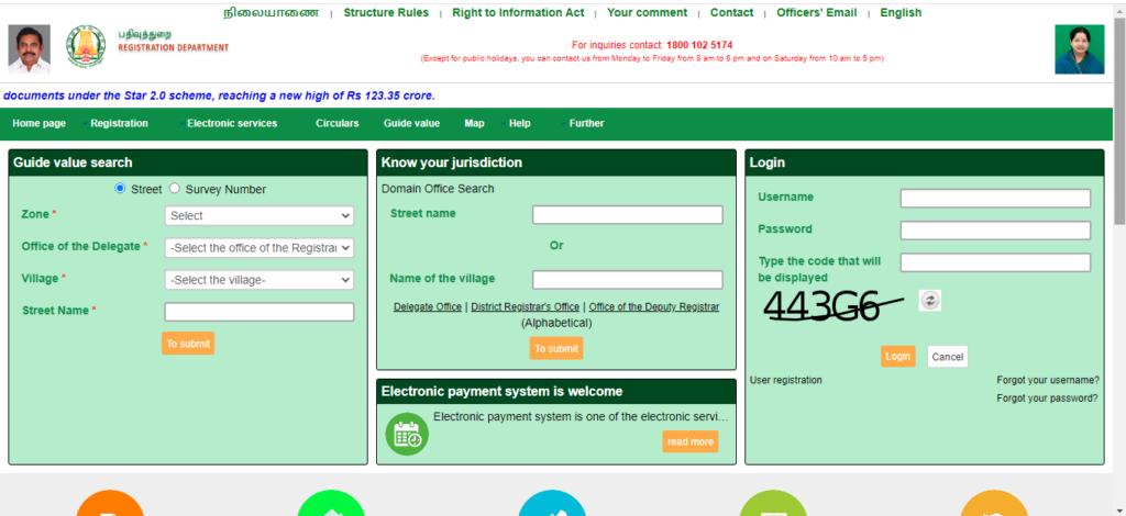 Tnreginet online portal